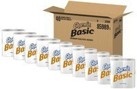 Charmin Basic Double Rolls Toilet Paper, 40 Count