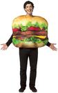 Totally Ghoul Mens'Cheeseburger Halloween Costume