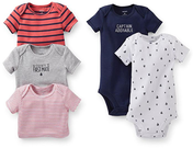 Carter's Newborn & Infant Boy's Bodysuits 5-Pack
