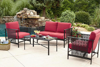 Ty Pennington Turner 4-Piece Wrought Iron Seating Set