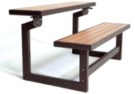 Lifetime Convertible Bench and Table