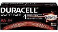 Duracell Quantum Alkaline AA Batteries, 24-Pack