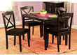 Mason 5 Piece Cross-Back Dining Set