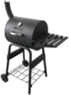 BBQ Grillware Patio Barrel Charcoal Grill