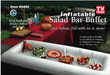 Inflatable Portable Floating Salad Bar