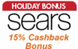 Sears.com - 15% Cash Back with Discover Card via ShopDiscover