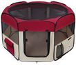 Medium 2-Door Pet Playpen Exercise Kennel Soft Tent