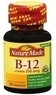 Two bottles of Nature Made Vitamin B-12 250mcg Tablets