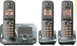 Panasonic 3-Handset Expandable Digital Cordless Phone System