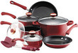 Paula Deen Nonstick Porcelain 12-Piece Cookware & Tool Set
