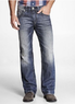 Two Men's Rocco Slim Fit Boot Cut Jeans