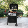 Backyard Grill 27,000 BTU Gas Grill w/ Steel Side Shelves