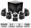Mirage MX 5.1 Home Theater Speaker System