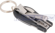 Stainless Steel Folding Nail Clipper and File Keychain