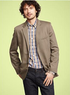 Men's Tailored Linen Blazer
