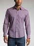 Zachary Prell Men's Mandino Check Sport Shirt