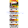 Camelion Alkaline AG13 Coin Cell Battery 10-Pack