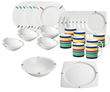 Nautica On Deck 34-Piece Dinnerware Set