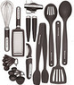 KitchenAid Black 17-piece Kitchen Tool & Gadget Set