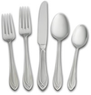 Arcadia Frost 45 Piece Flatware Set