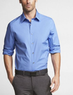 Two Express Men's 1MX Modern Fit Stretch Cotton Shirts