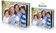 8x11 Hard Cover Photo Book with Free Bonus Album