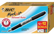 24-Pack BIC Mark-It Fine Point Permanent Markers