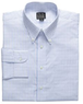 Executive Collection Pattern Buttondown Collar Dress Shirt