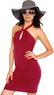 American Apparel Cotton Spandex Jersey Bandeau Pencil Dress