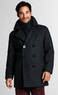 Men's Regular Wool Peacoat