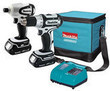 Makita 18V Lithium Ion 2-Piece Cordless Combo Kit (Refurb)
