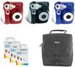 Polaroid 300 Instant Camera w/ 30-Pack of Film Paper