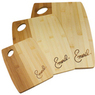 Emeril Kitchenware Natural Bamboo Cutting Board Set 3-Pack
