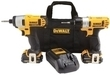 DeWalt MAX 12-volt Screwdriver/Impact Driver Kit Bundle