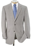 Men's Tropical Blend 2-Button Ticweave Suit w/ Trousers