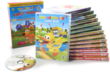 WordWorld 14 DVD Collector Set w/ 25 First Words Flash Cards