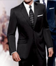 Traveler Tailored Fit 2-Button Suit w/ Pleated Trousers