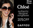 Gaffos.com - 20% Off Chloe Sunglasses