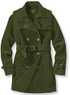 Women's Corduroy Belted Trench