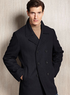 Calvin Klein Men's Wool-Blend Peacoat