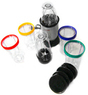 Silver and Black 17-Piece Party Blender and Margarita Maker