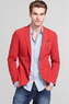 Men's Cotton Garment Dyed Blazer