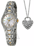 Pulsar by Seiko Women's Crystal Watch with Necklace