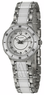 Bulova Women's Stainless Steel and Diamond Watch