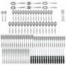 International Silver Satin Danford 106 Piece Flatware Set