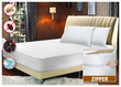 Bed Bug Non Allergenic Zippered Mattress Encasement