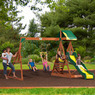 Backyard Discovery Aspen Cedar Swing Set