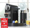 Nespresso CitiZ & Milk Espresso Maker + Six Cups