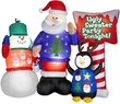 Holiday Living 5.5' Inflatable Fabric Ugly Sweater Party