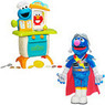 Sesame Street Cookie Monster Kitchen and Super Grover Bundle